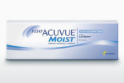 Lentes de contacto Johnson & Johnson 1 DAY ACUVUE MOIST for ASTIGMATISM 1MA-30P-REV