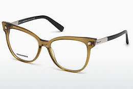 Gafas de diseño Dsquared DQ5214 045 - Marrones, Bright, Shiny