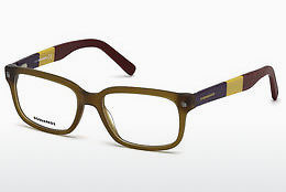 Gafas de diseño Dsquared DQ5216 046 - Marrones, Bright, Matt