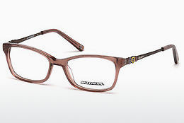 Gafas de diseño Skechers SE1626 048 - Marrones, Dark, Shiny