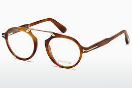 Gafas de diseño Tom Ford FT5494 053 - Amarillas, Marrones, Havanna
