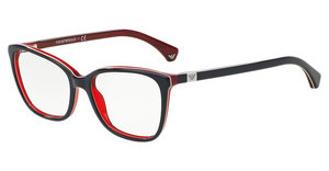 Emporio Armani EA3053 5352 BLUE/WHITE LINE/RED
