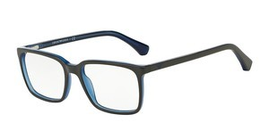 Emporio Armani EA3074 5467 TOP GREY ON OPAL BLUE