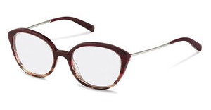 Jil Sander J4007 D red gradient
