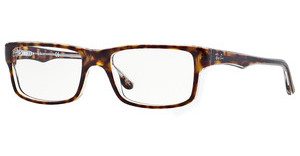 Ray-Ban RX5245 5082 TOP HAVANA ON TRANSPARENT