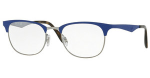 Ray-Ban RX6346 2911 GUNMETAL/MATTE LIGHT BLUE