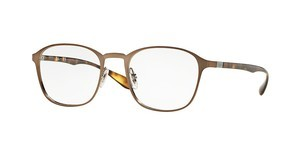 Ray-Ban RX6357 2877 BRUSHED LIGHT BROWN