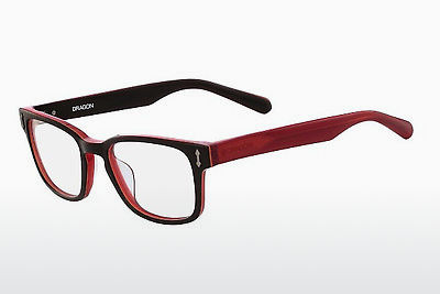 Gafas de diseño Dragon DR152 ALEX 200 - Marrones, Rojas