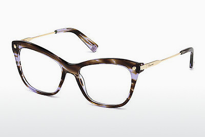 Gafas de diseño Dsquared DQ5194 050 - Marrones, Dark