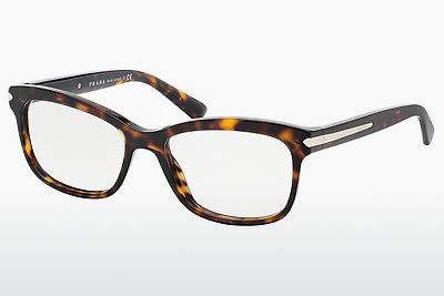 Gafas de diseño Prada ARROW (PR 10RV 2AU1O1) - Marrones, Havanna