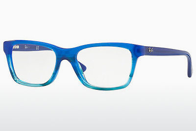 Gafas de diseño Ray-Ban Junior RY1536 3731 - Azules, Marrones, Havanna