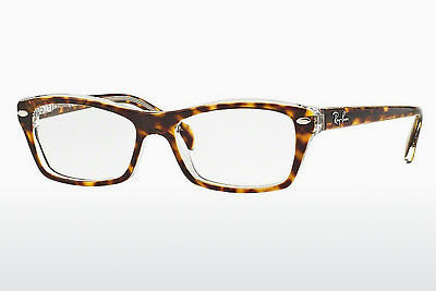 Gafas de diseño Ray-Ban Junior RY1550 3602 - Transparentes, Marrones, Havanna