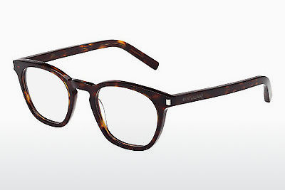 Gafas de diseño Saint Laurent SL 30 002 - Marrones, Havanna