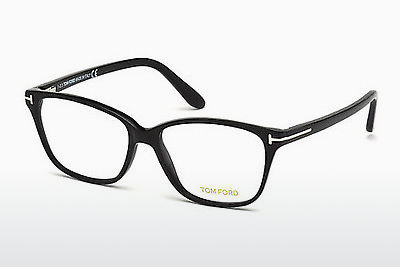 Gafas de diseño Tom Ford FT4293 001 - Negras, Shiny