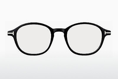 Gafas de diseño Tom Ford FT5150 001 - Negras, Shiny