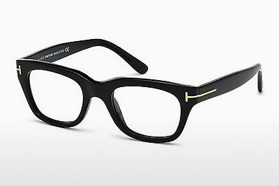 Gafas de diseño Tom Ford FT5178 001 - Negras, Shiny