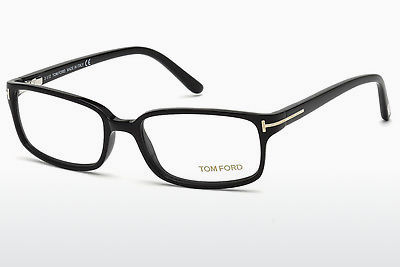 Gafas de diseño Tom Ford FT5209 001 - Negras, Shiny