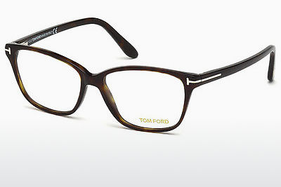 Gafas de diseño Tom Ford FT5293 052 - Marrones, Dark, Havana