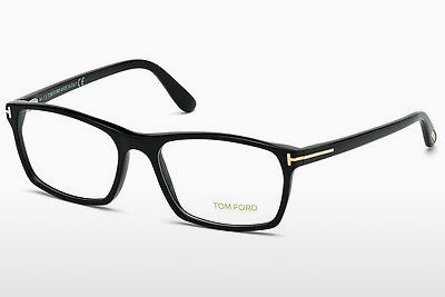 Gafas de diseño Tom Ford FT5295 001 - Negras, Shiny