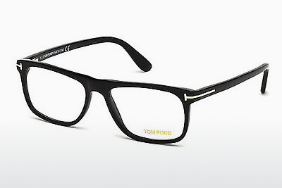 Gafas de diseño Tom Ford FT5303 002 - Negras, Matt
