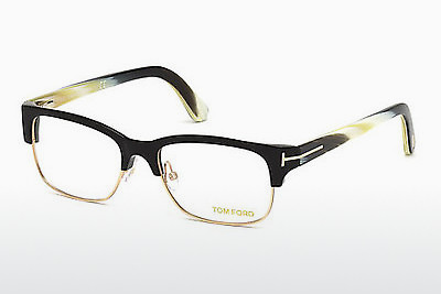 Gafas de diseño Tom Ford FT5307 001 - Negras, Shiny