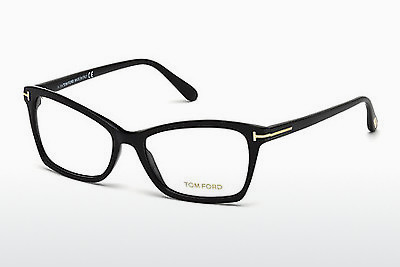 Gafas de diseño Tom Ford FT5357 001 - Negras, Shiny