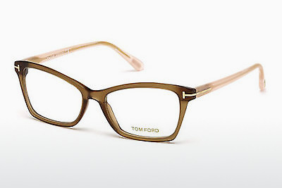Gafas de diseño Tom Ford FT5357 048 - Marrones, Dark, Shiny