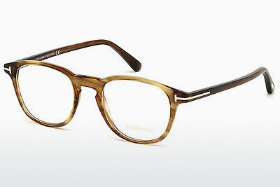 Gafas de diseño Tom Ford FT5389 048 - Marrones, Dark, Shiny
