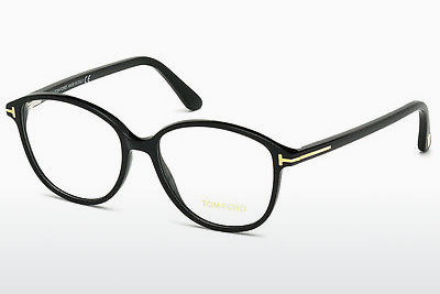 Gafas de diseño Tom Ford FT5390 001 - Negras, Shiny