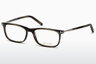 Gafas de diseño Tom Ford FT5398 061 - Verdes, Horn