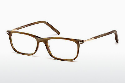Gafas de diseño Tom Ford FT5398 062 - Marrones, Horn, Ivory
