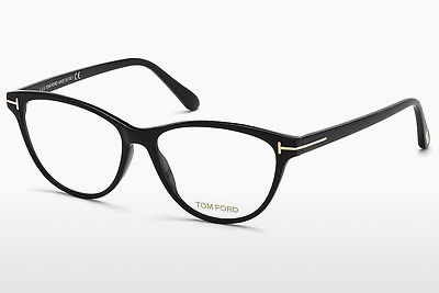Gafas de diseño Tom Ford FT5402 001 - Negras, Shiny