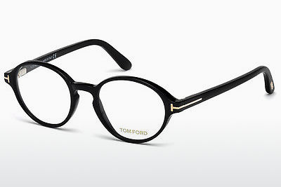 Gafas de diseño Tom Ford FT5409 001 - Negras, Shiny
