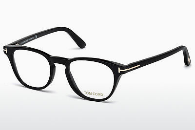 Gafas de diseño Tom Ford FT5410 001 - Negras, Shiny