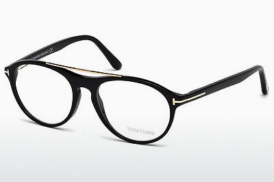 Gafas de diseño Tom Ford FT5411 001 - Negras, Shiny