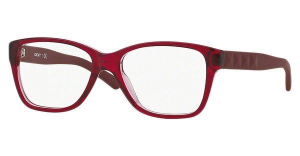 DKNY DY4660 3647 RED ON TRANSPARENT RED