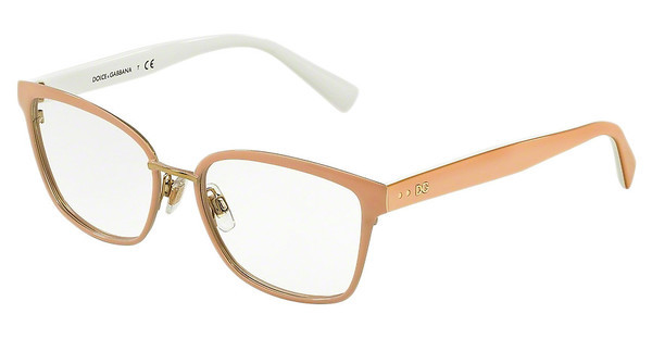 Dolce & Gabbana DG1282 1291 PALE GOLD/POWDER