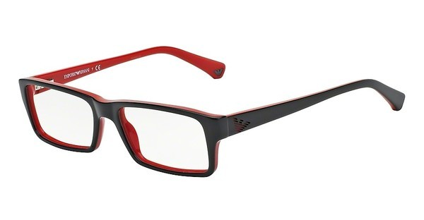 Emporio Armani EA3003 5061 TOP BLACK ON RED