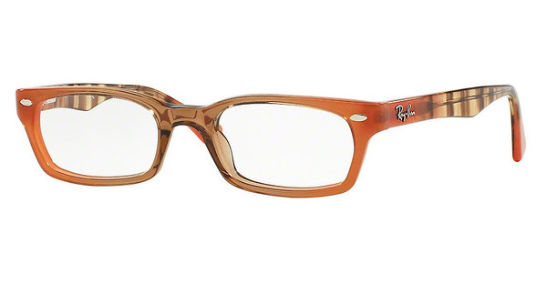 Ray-Ban RX5150 5487 GRADIENT BROWN ON ORANGE