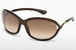 Gafas de visión Tom Ford Jennifer (FT0008 692) - Marrones, Dark, Shiny