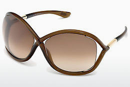 Gafas de visión Tom Ford Whitney (FT0009 692) - Marrones, Dark, Shiny