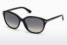 Gafas de visión Tom Ford Karmen (FT0329 01B) - Negras, Shiny