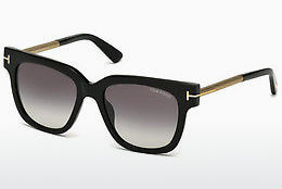 Gafas de visión Tom Ford Tracy (FT0436 01B) - Negras, Shiny