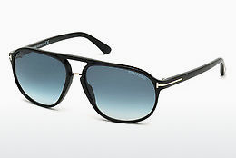 Gafas de visión Tom Ford Jacob (FT0447 01P) - Negras, Shiny