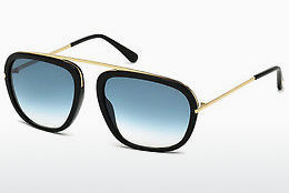 Gafas de visión Tom Ford Johnson (FT0453 01P) - Negras, Shiny