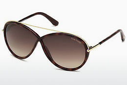 Gafas de visión Tom Ford Tamara (FT0454 52K) - Marrones, Dark, Havana