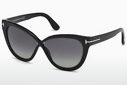 Gafas de visión Tom Ford Arabella (FT0511 01D) - Negras, Shiny