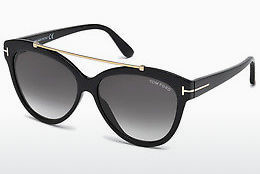 Gafas de visión Tom Ford Livia (FT0518 01B) - Negras, Shiny