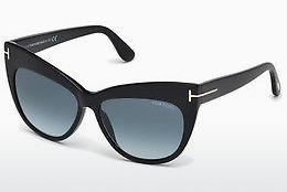 Gafas de visión Tom Ford Nika (FT0523 01W) - Negras, Shiny