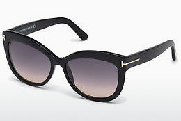 Gafas de visión Tom Ford Alistair (FT0524 01B) - Negras, Shiny
